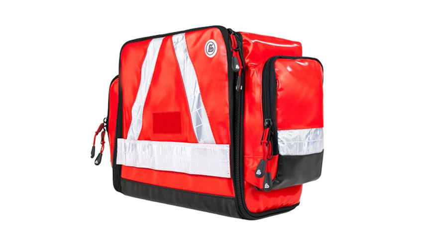 Moderne und flexible Notfalltasche FLEX RED PLANE