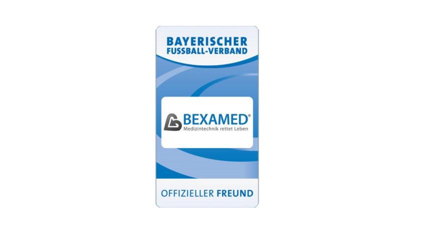 Offizieller Freund des Bayerischen Fußball-Verbands