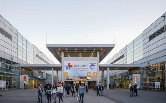 MEDICA 2019 Messetage in Düsseldorf, Deutschland