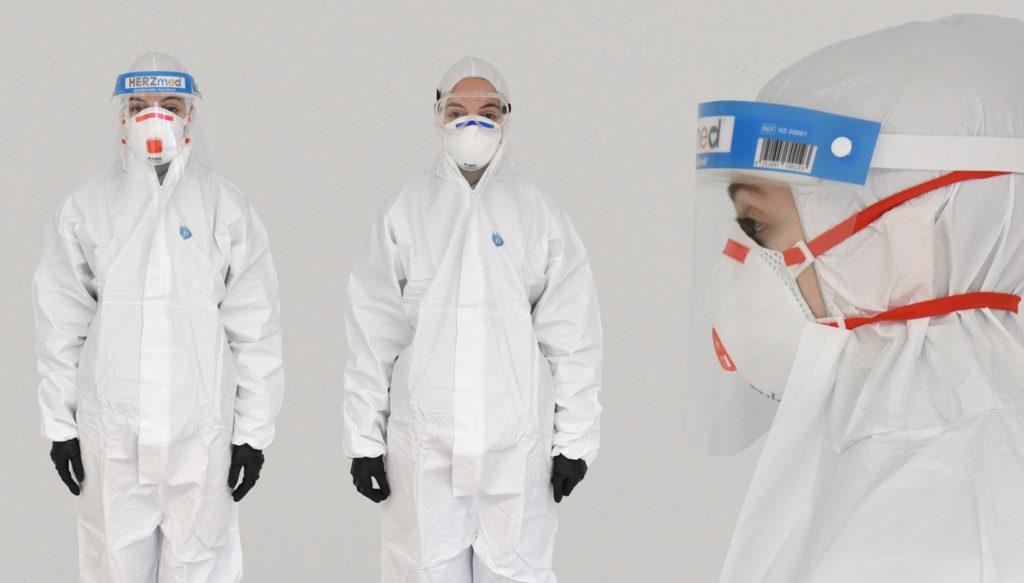 Banner für Pandemie Schutzset